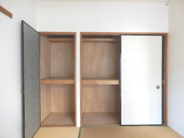 マンションはなき2 301号室の収納