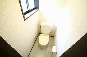 白百合 103号室のトイレ