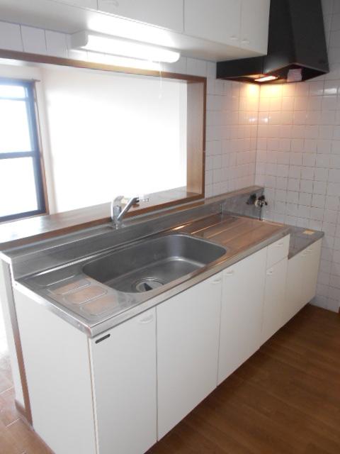 プレステージアスター 402号室のキッチン