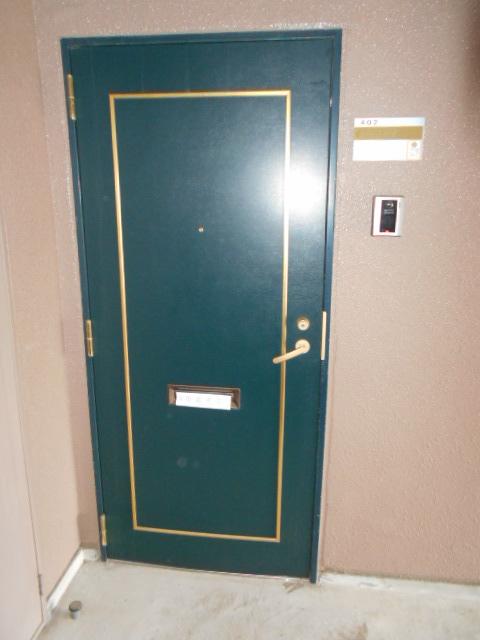 プレステージアスター 402号室の玄関