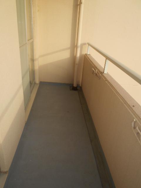 佐鳴湖パークタウンサウス 704号室のバルコニー