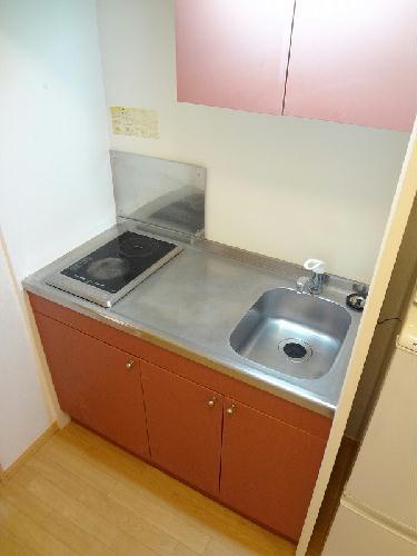 レオパレスバンビーノ花輪 104号室のキッチン