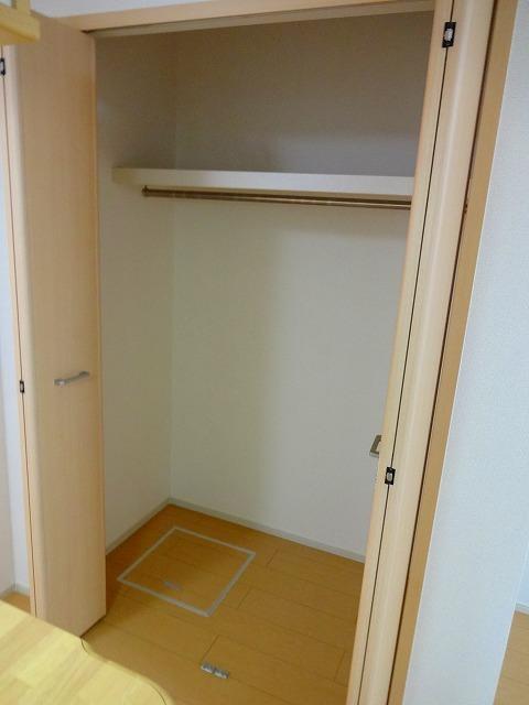 リヴィエ 01010号室の収納