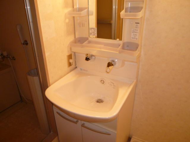 丸二サンハイツ 305号室の洗面所