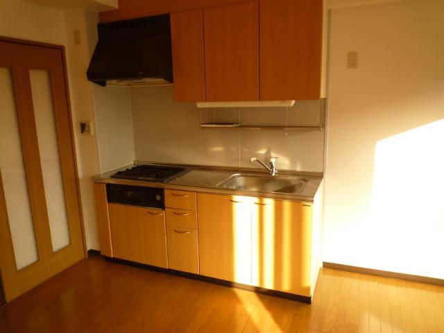 クレアール壱番館 403号室のキッチン