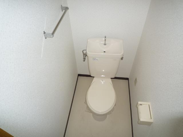 クレアール壱番館 403号室のトイレ