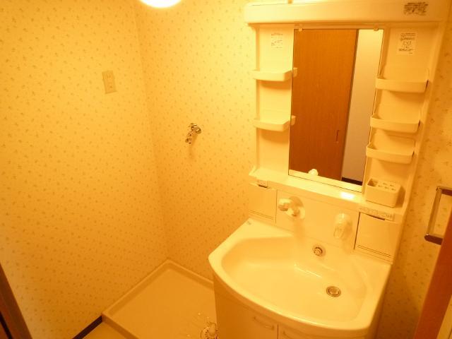 クレアール壱番館 403号室の洗面所