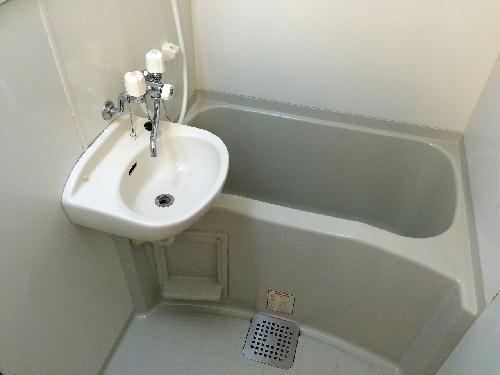レオパレス青空 209号室の風呂