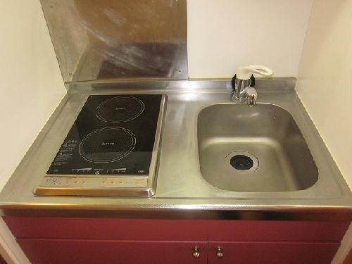 レオパレスあつた 205号室のキッチン