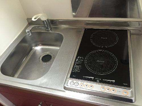 レオパレス森田 101号室のキッチン