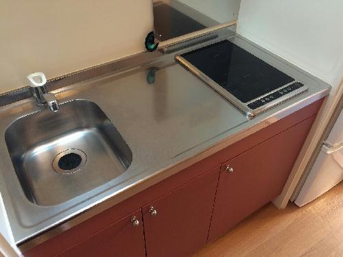 レオパレスサザンクロス海老塚 201号室のキッチン