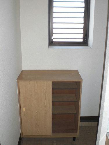 レオパレスアークコート 303号室の玄関