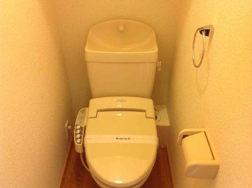 レオパレスあめや S&T 206号室のトイレ