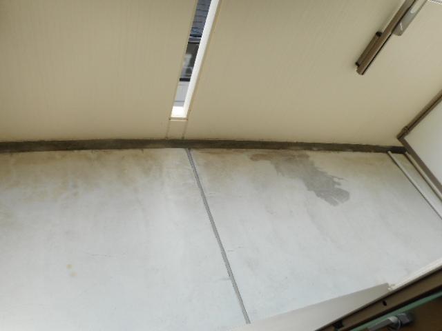 ドリームピア大蒲 403号室のバルコニー