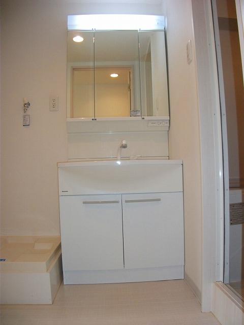 シティプレイス 602号室の洗面所