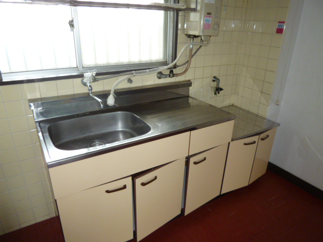 山王運輸ビル 7B号室のキッチン
