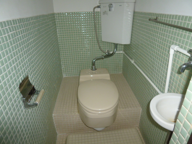 山王運輸ビル 7B号室のトイレ