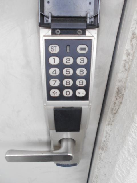 上島コモンコートD棟 203号室のセキュリティ