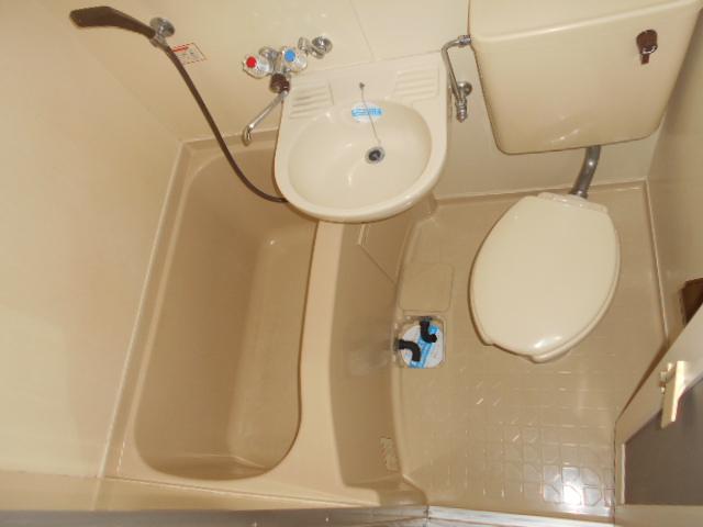 上島コモンコートD棟 203号室の風呂
