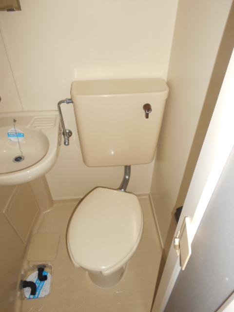 上島コモンコートD棟 203号室のトイレ