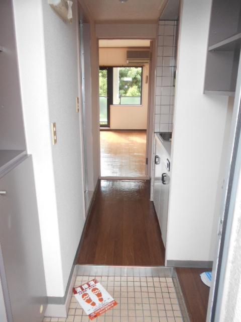 上島コモンコートD棟 203号室の玄関