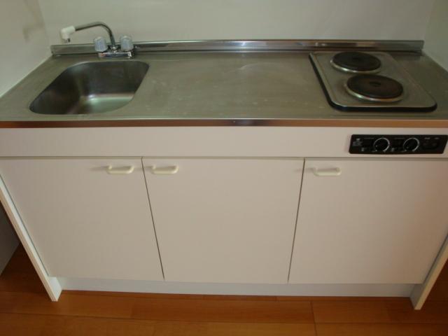 センチュリーパーク野田 203号室のキッチン