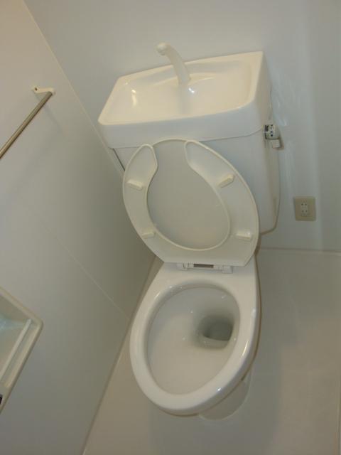 センチュリーパーク野田 203号室のトイレ