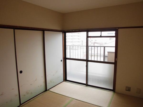 サンハイツ野田 302号室のバルコニー