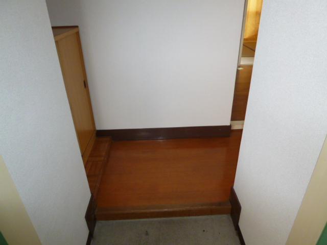 サンハイツ野田 201号室の玄関