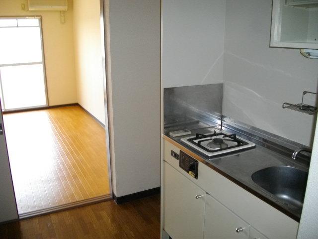 ハウスベーシック 206号室のキッチン