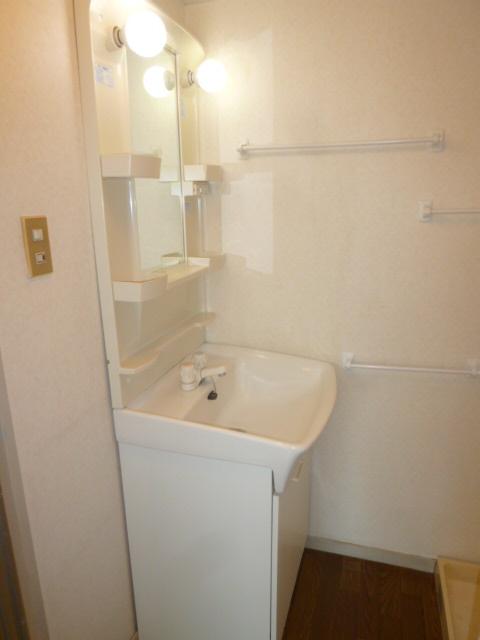 シティマンションウィング 201号室の洗面所