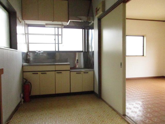 今井アパート 202号室のキッチン