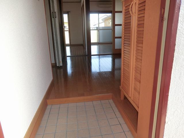 メゾン上条 205号室の玄関