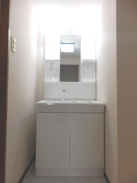 ヴィルヌーブ佐鳴台 201号室の洗面所