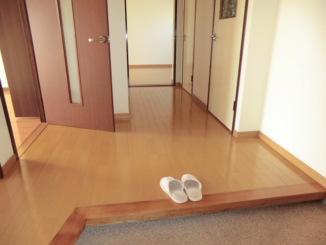 マンション布友 207号室の玄関