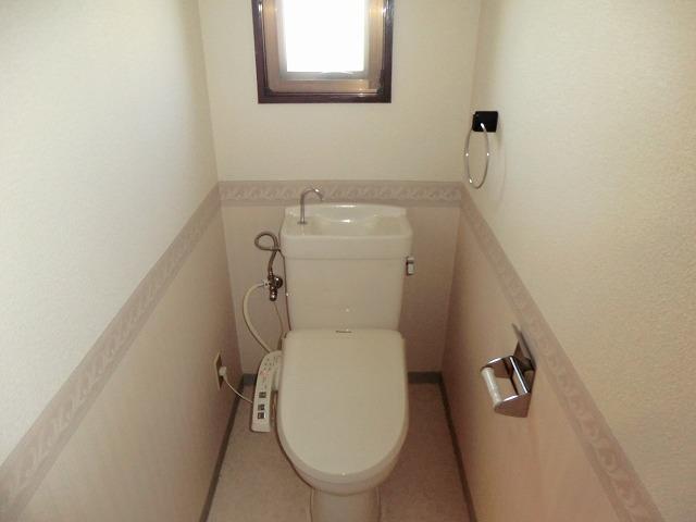 マンション布友 207号室のトイレ