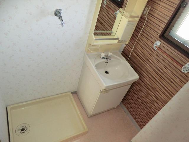マンション布友 207号室の洗面所