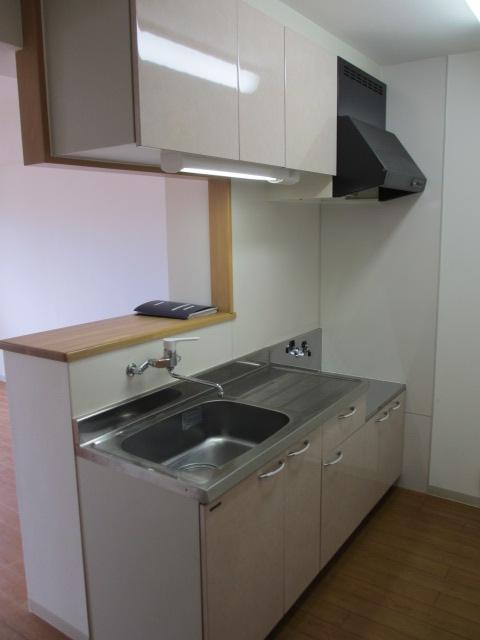 サンシャインユタカⅡ 103号室のキッチン