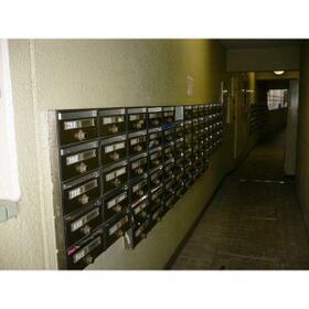 露橋ロイヤルハイツII 510号室のエントランス