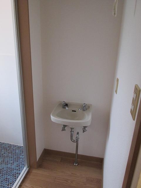 サンハイツ九丁歩Ⅱ 103号室の洗面所