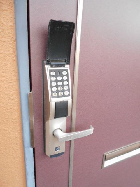 オーシャンブルー 101号室のセキュリティ
