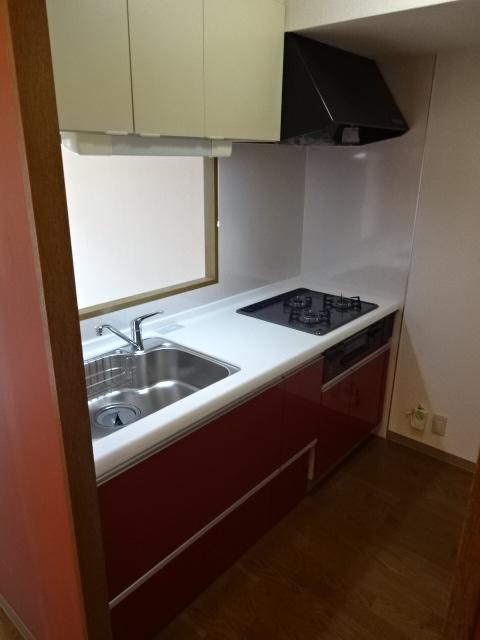 グランドール領家 402号室のキッチン