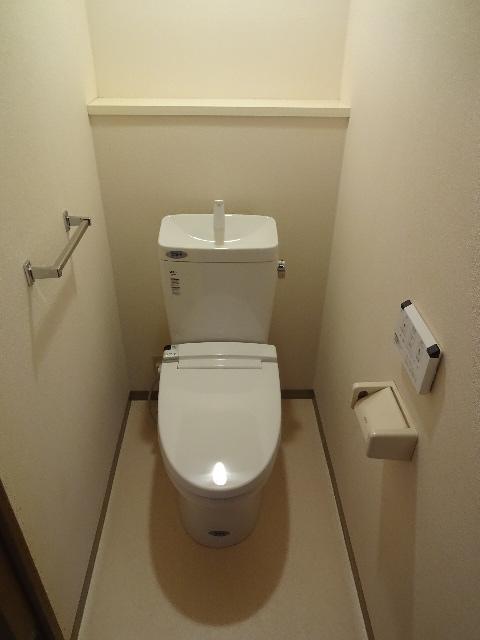 グランドール領家 402号室のトイレ