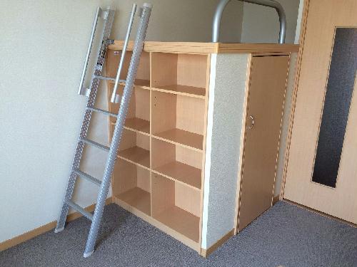 レオパレスSKY 205号室のトイレ