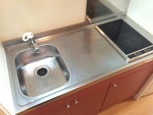 レオパレスⅠBA 201号室のキッチン