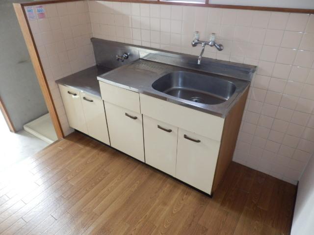 グランビーア表台 201号室のキッチン