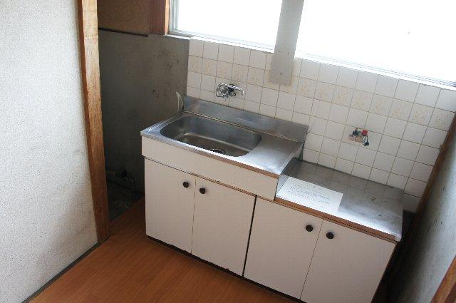 はくゆう荘 201号室のキッチン