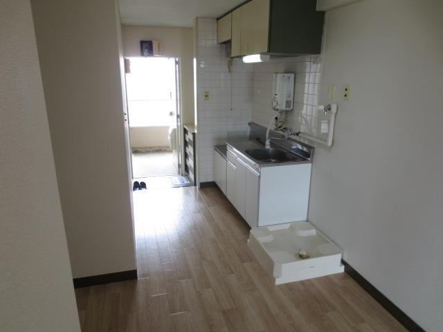 木村ビル 401号室のキッチン