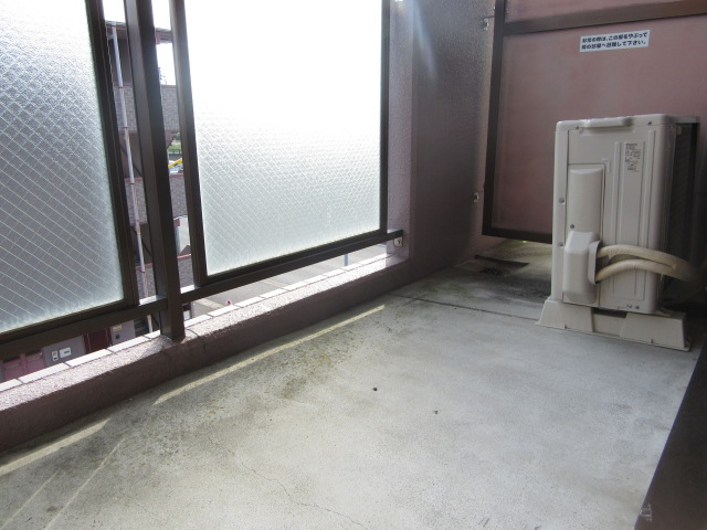 カウベルⅠ 103号室のバルコニー