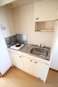 MakanaⅡ 202号室のキッチン
